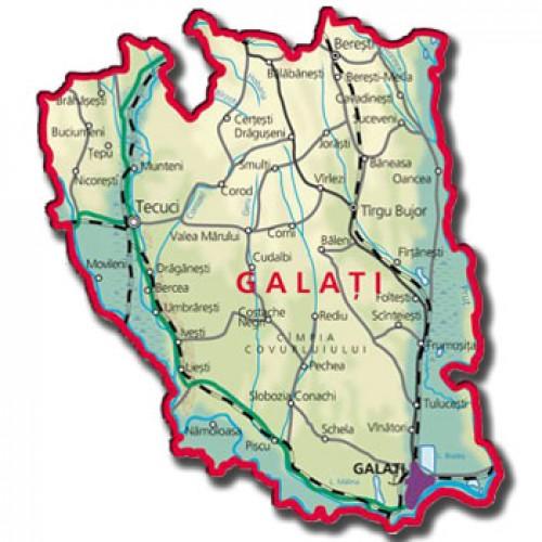 Galaţi, ţinutul dintre ape