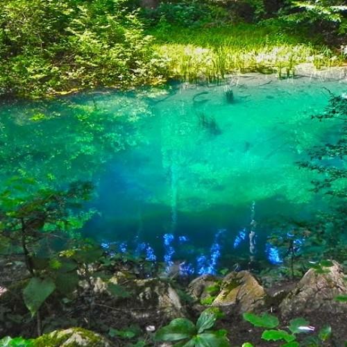 Lacul Albastru, Baia Sprie