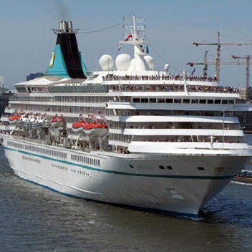 Nava de croaziera MV Artania a acostat ieri in portul Constanta
