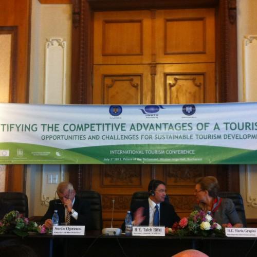 3 iulie a adus la Bucureşti – Conferinţa Internaţională de Turism