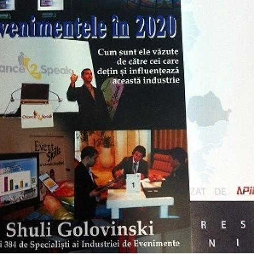 Conferinţă APIER sau Industria de evenimente în 2013