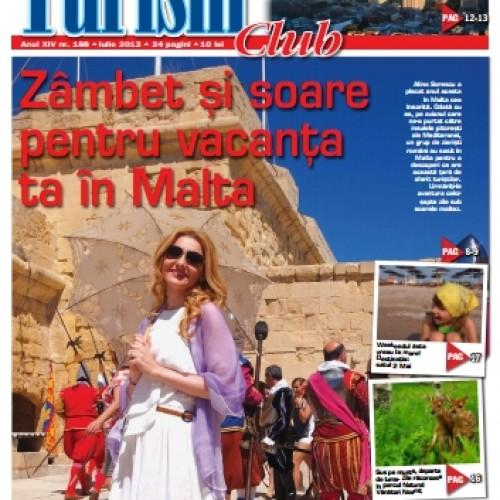Coperta Turism Club Iulie 2013