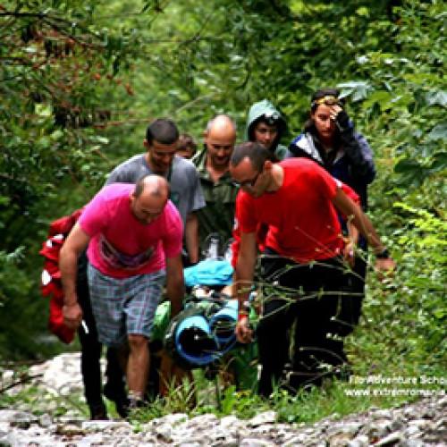 Editia 2013 a Scolii de vara – initiere in supravietuire si alpinism Flo Adventure School