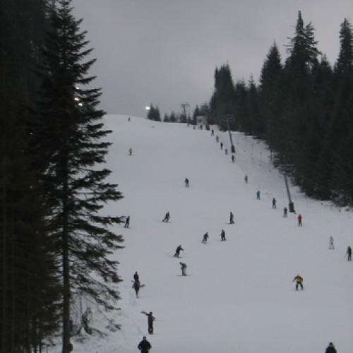 Prin zăpadă, în drum către BORSEC
