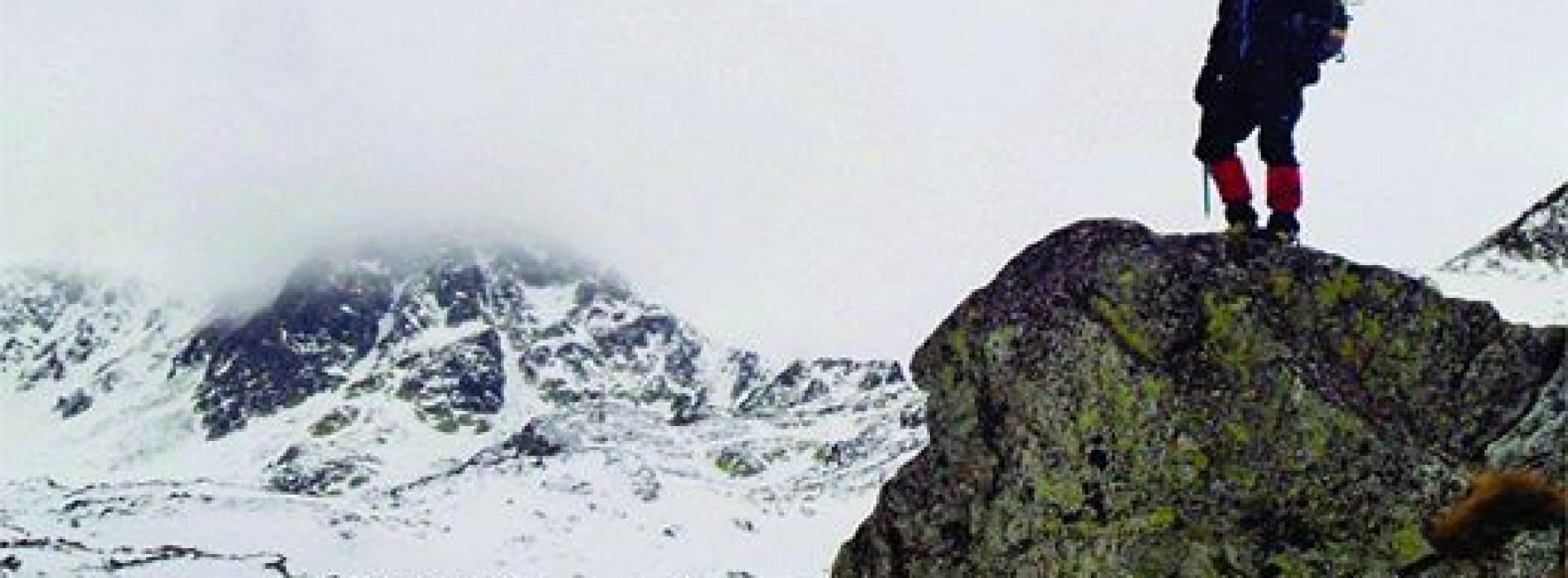Alpinistul Florin Pop Vancea este in 2014 imaginea brandului Trespass in Romania