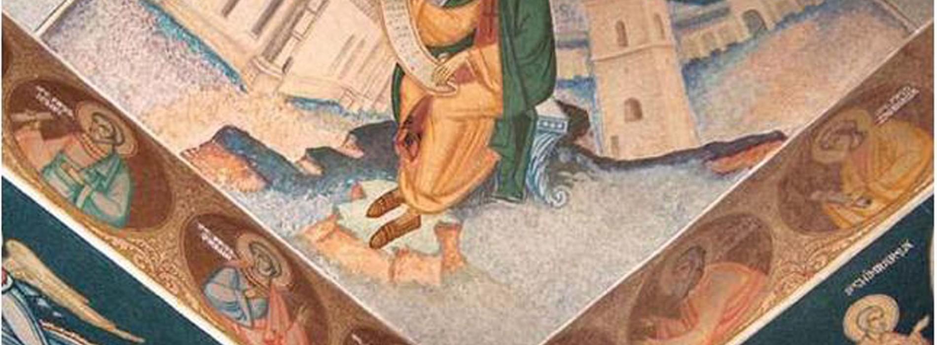 Frescele Bisericii Dragomirna, restaurate prin Regio, concurează pentru Premiul Publicului!