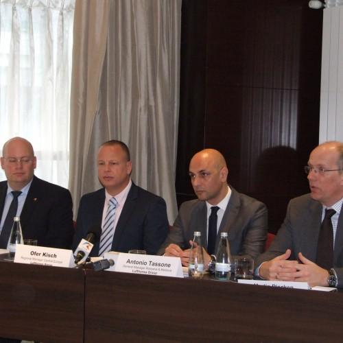 Lufthansa l-a prezentat pe noul director pentru România şi Moldova