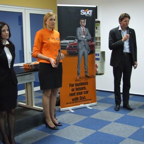 Sixt şi-a premiat colaboratorii la Târgul de Turism al României