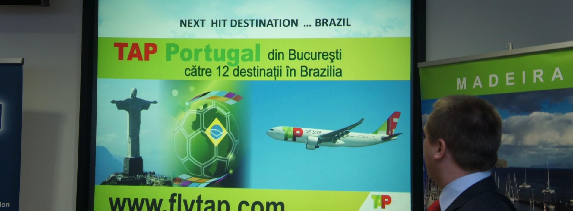 Promoţia TAP Portugalia continuă, iar numărul de zboruri creşte