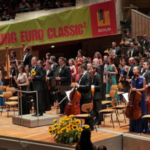 Succes uriaș al Orchestrei Române de Tineret la Berlin!