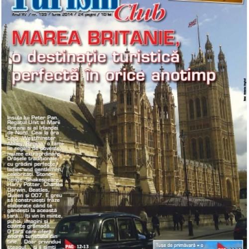 Coperta Turism Club Iunie 2014
