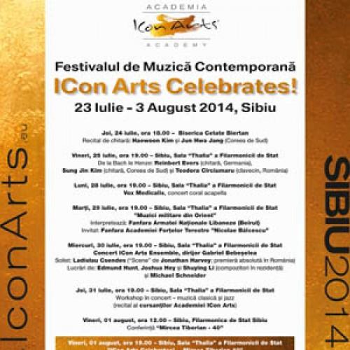 Festivalul ICon Arts, Sibiu, 23 iulie – 3 august