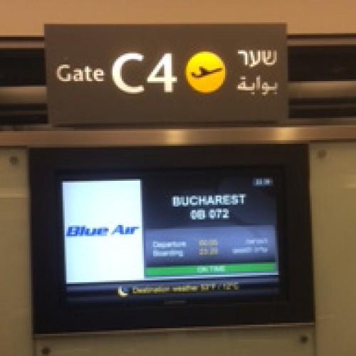 Primul charter cu turişti din Israel pentru litoralul românesc aterizează la Constanţa pe 7 iulie
