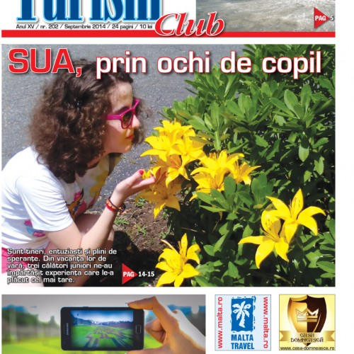 Coperta Turism Club Septembrie 2014