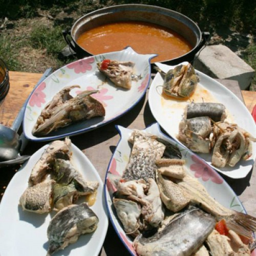 Festivalul Borșului de Pește, în Deltă