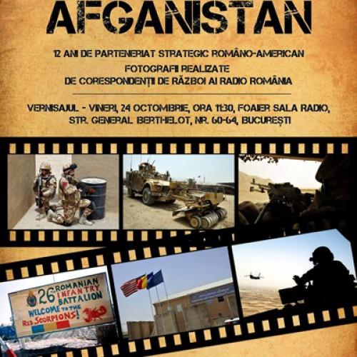 România în Afganistan – expoziție foto