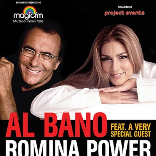 Al Bano și Romina Power, în Capitală, pe 5 noiembrie!