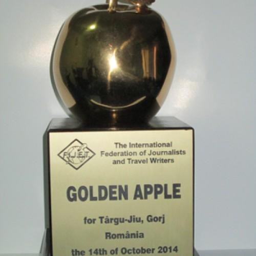 GOLDEN APPLE 2014 pentru Târgu Jiu!