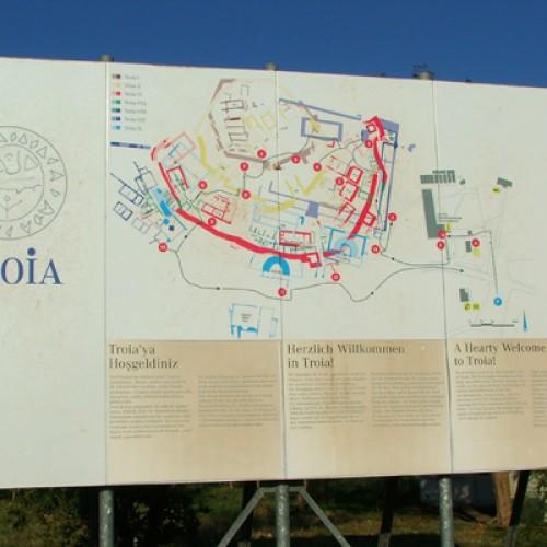 Să descoperim Troia, într-un peisaj spectaculos