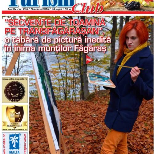 Coperta Turism Club Noiembrie 2014