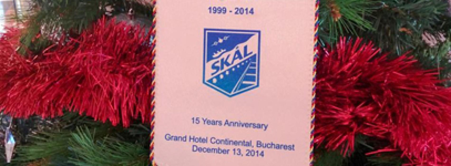 SKÅL International Romania a sărbătorit 15 ani de succes în România