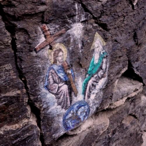 Miracolele de la Mănăstirea Piatra Scrisă. Legendele icoanei de pe stâncă