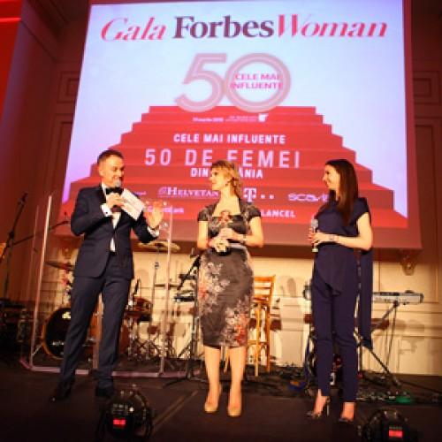 Cele mai influente femei din România au fost premiate la Gala Forbes Woman