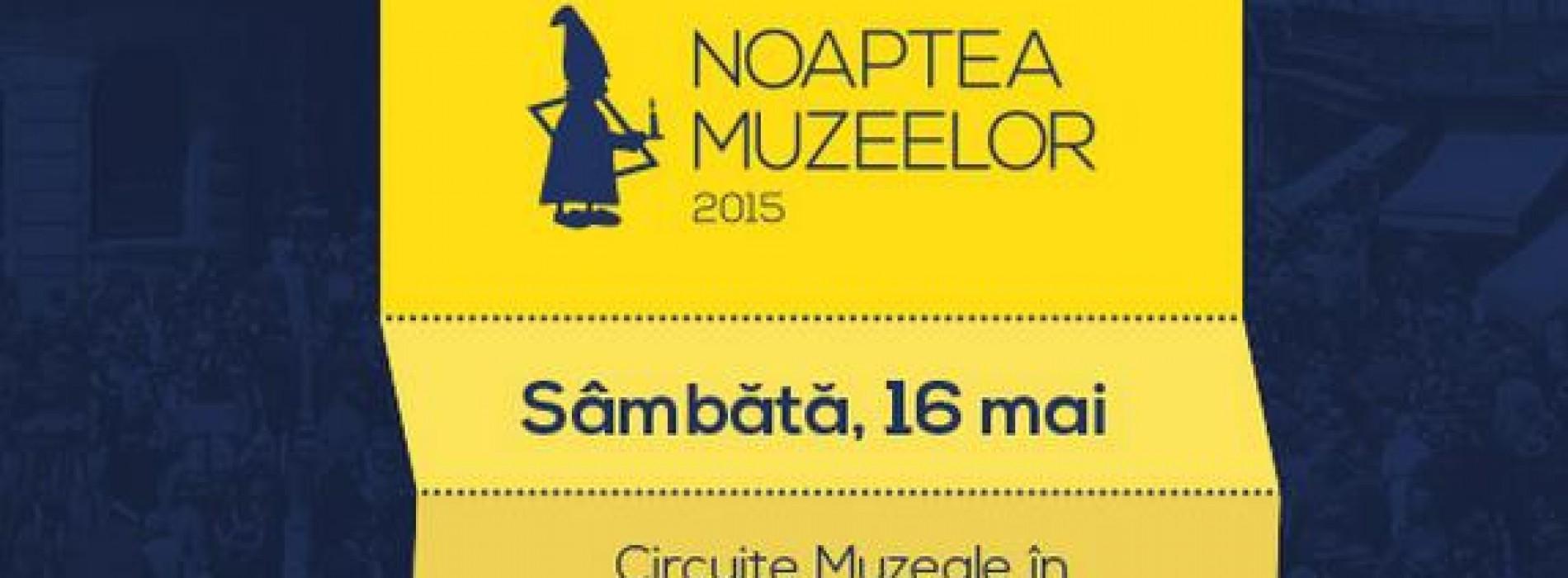 Noaptea Europeană a Muzeelor, 16 mai