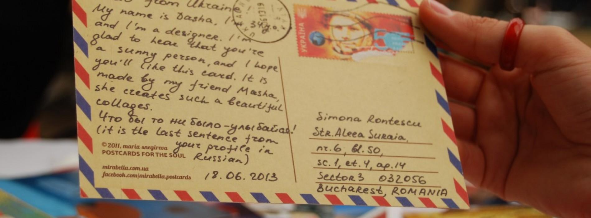 Simona, utilizator de Postcrossing: 400 de vederi trimise și primite în toate colțurile lumii