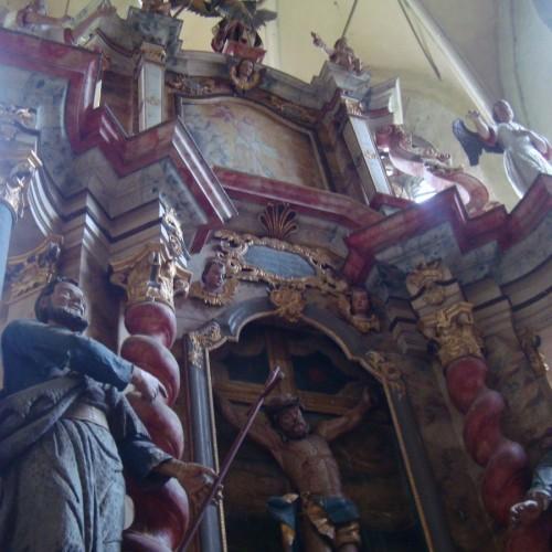 Richiș, satul sibian în care preoții l-au îmbrăcat pe Sf. Ioan Botezătorul