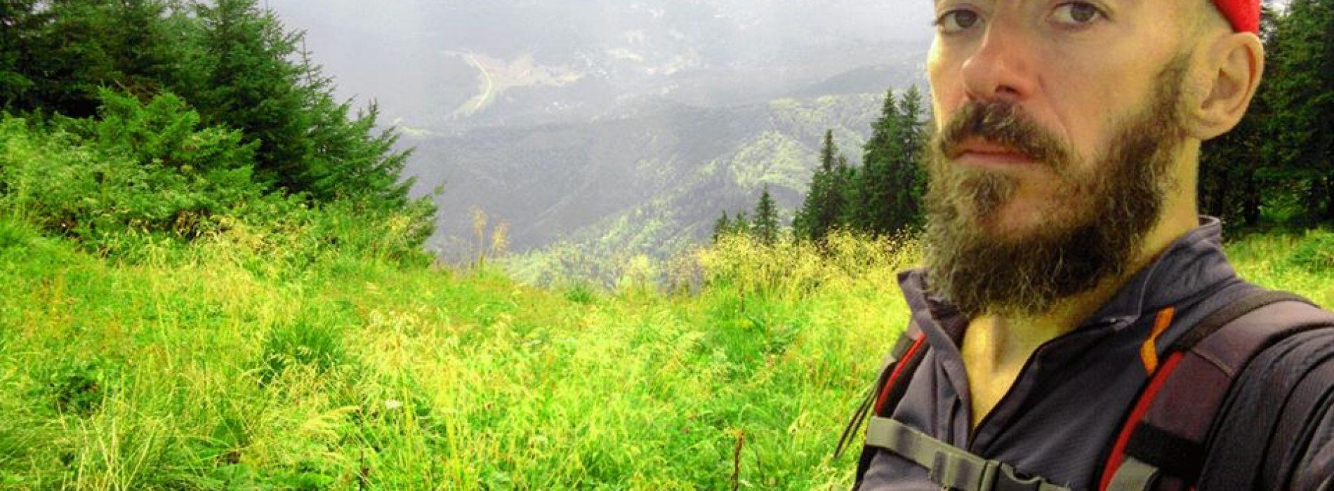 Călin Cyfer, 100 de zile de alergat pe Postăvaru