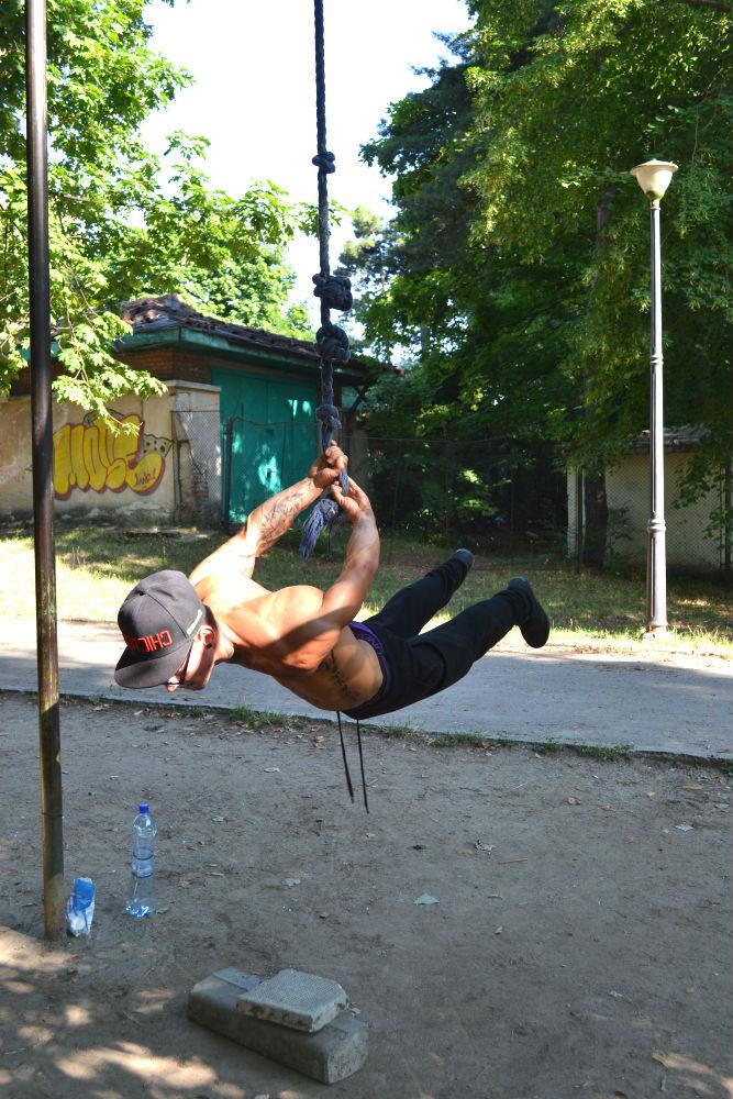 Sorin Toma, campionul care a pus România pe harta street workout-ului