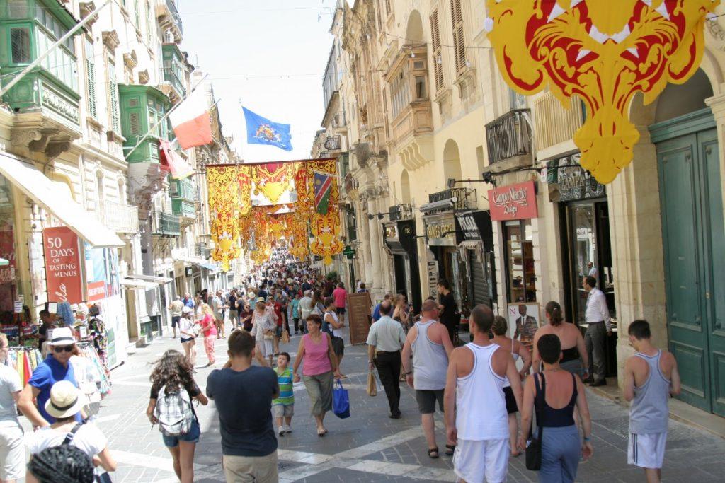 strada din Valletta
