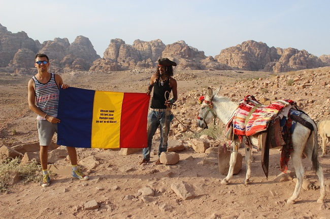 Jiti, românul din Caracal care a plimbat tricolorul în peste 80 de țări