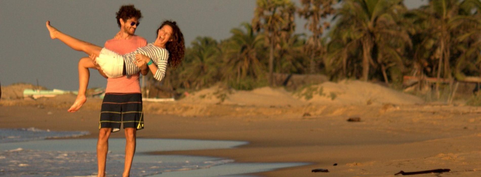 Îndrăgostiți de kiteboarding, Liviana și Cristi își iau lumea-n cap de Sărbători
