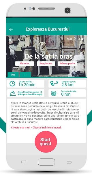 Aplicația Questo îți arată orașul prin ochii localnicilor