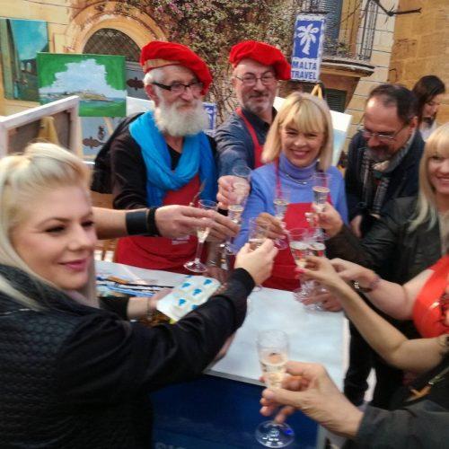 Vedetele au deschis Târgul de Turism al României, la standul Malta Travel