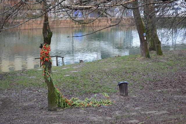Un florar a transformat un colț dintr-un parc din Oradea în locul lui de joacă